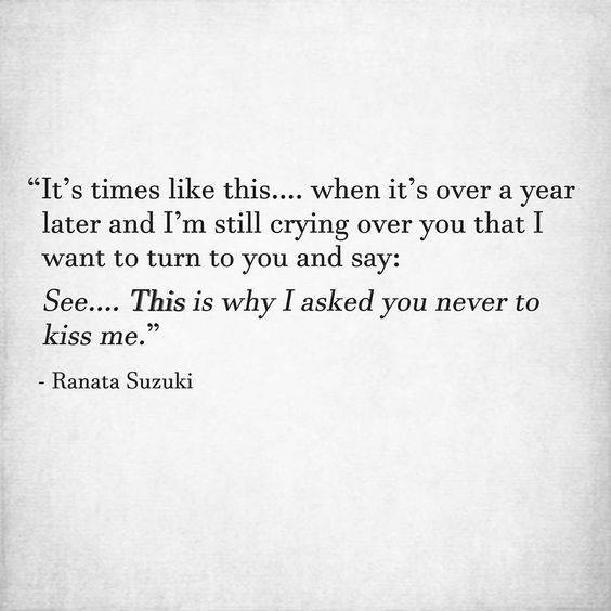 LIFE QUOTES : It\'s times like this.. when it\'s over a year ...