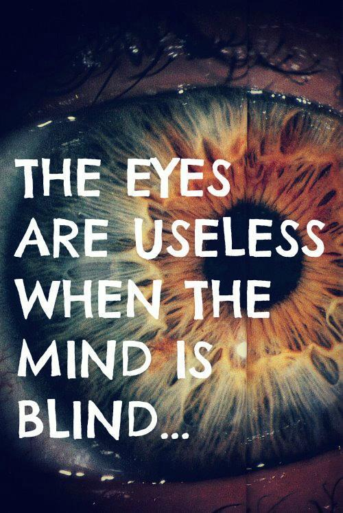 Blind Quotes Impressive Life Quotes  The Eyes Are Useless When The Mind Is Blind  Top