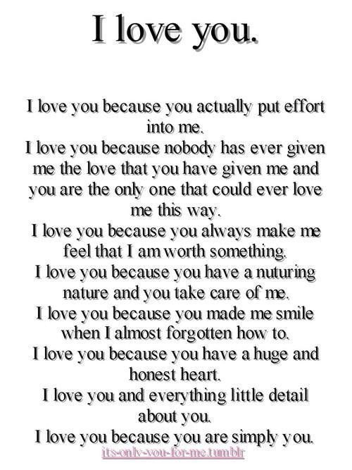 Love quote and saying : Love Poems For Him on Pinterest ...
