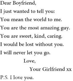 To To Cute Your Quotes Boyfriend Love Send