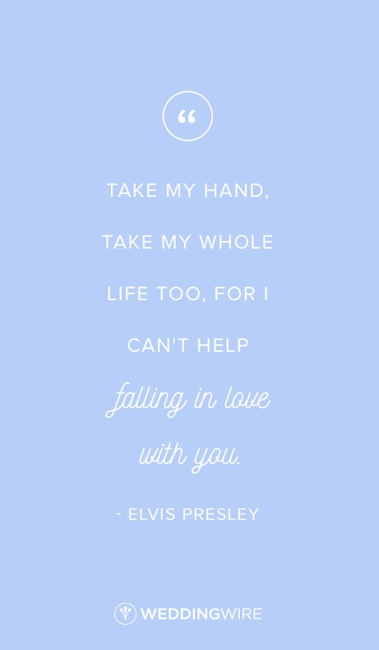 Quotes About Love Love Quote Elvis Presley Love Quote Take My