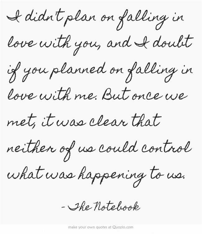 Quotes about Love : Love quotes - the notebook wedding quote ...