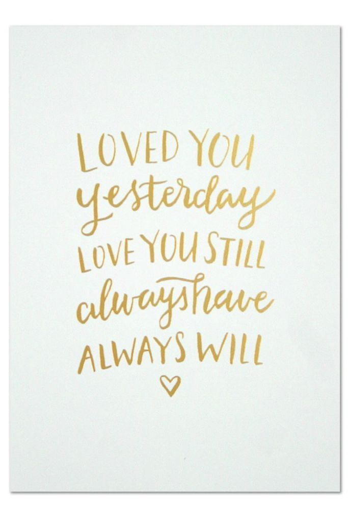 Quotes about love wedding vow idea loved you for Love the house you have