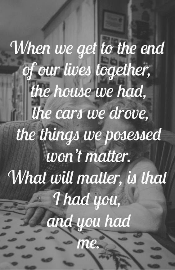 Quotes about love wedding vow idea what will matter is that quotes about love wedding vow idea what will matter is that i had you and you had me courte junglespirit Image collections