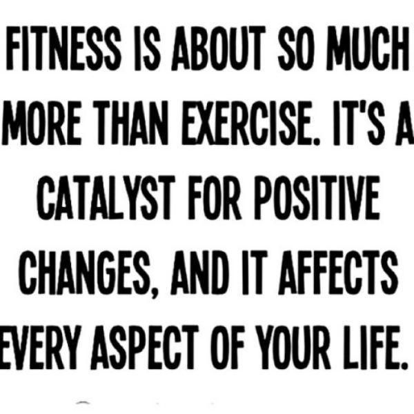Quotes About Strength : Fitness is about so much more than ...