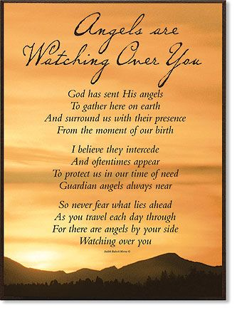 Quotes About Strength Guardian Angel Protection Poems To Gather