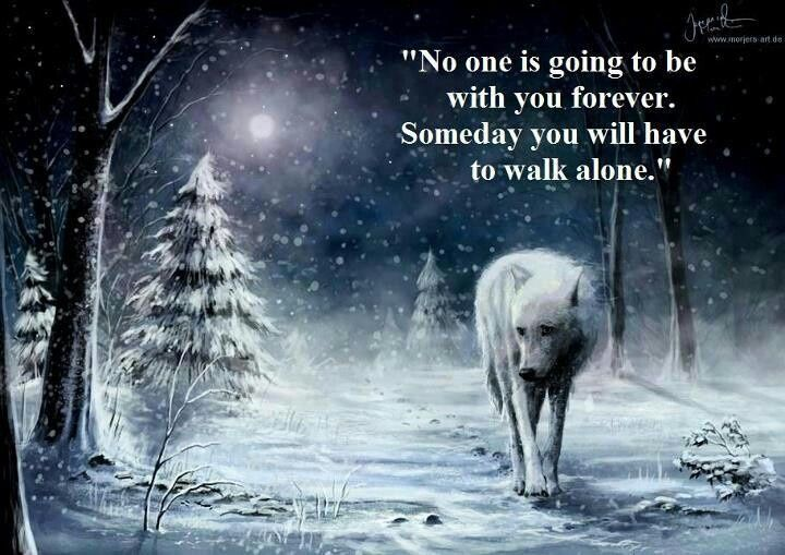 Quotes About Strength : Lone Wolf Poem , absolutely love ...
