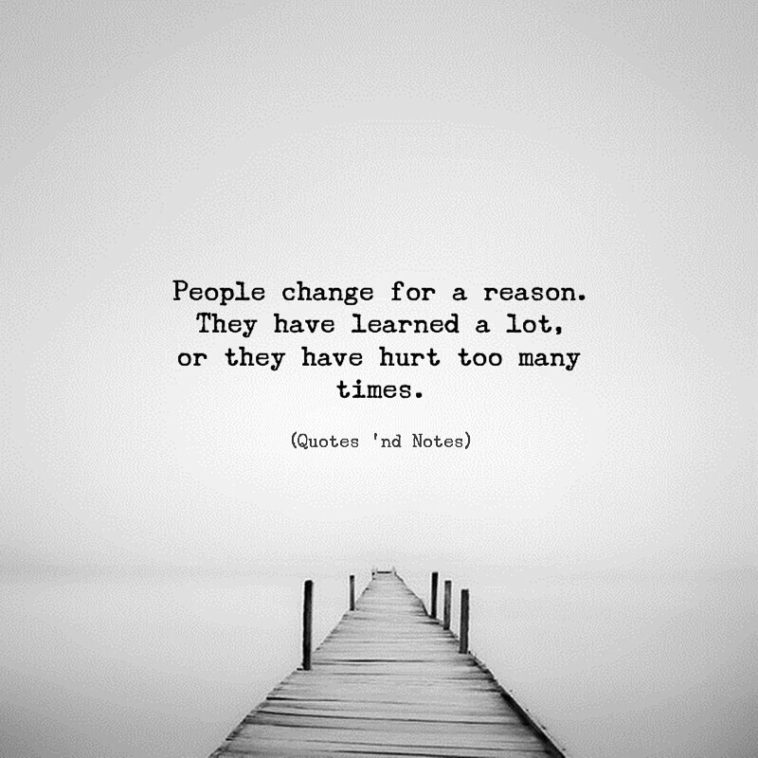 100 Best Quotes On People Change