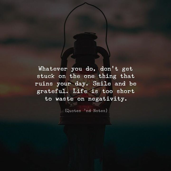 LIFE QUOTES : Whatever You Do, Don't Get Stuck On The One