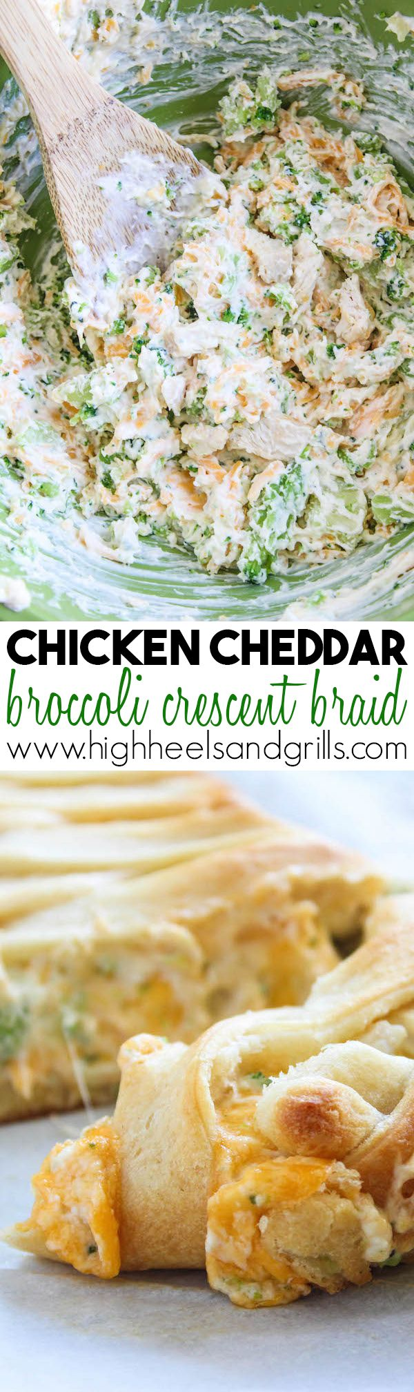 Celebrity Quotes: This Chicken Cheddar Broccoli Crescent