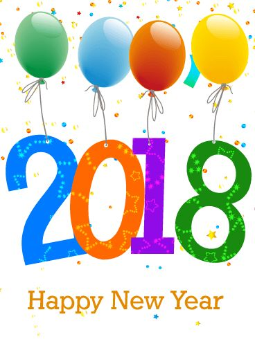 Happy New Year 2018 Quotes : Celebrating New Year Card 2018 ...