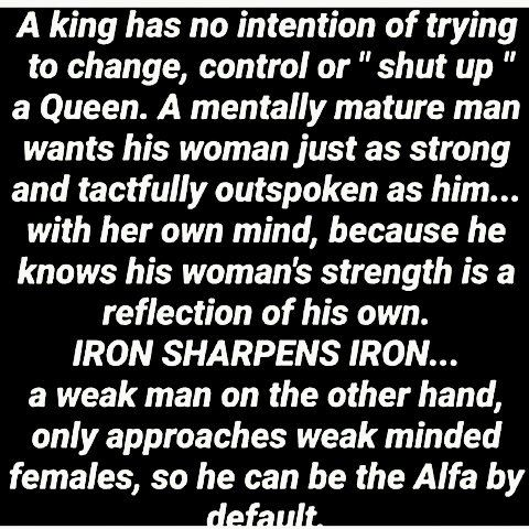 Love Quote And Saying A Queen Needs A King Who Loves Her Who Is