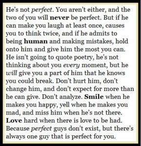 Love Quote And Saying Bob Marley Quote Hes Not Perfect  Perfection Relationship Love S