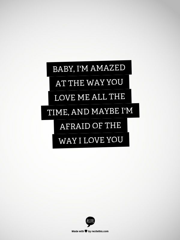 Quotes About Love : Love Lyrics U2013 Paul McCartney  U201cMaybe Iu0027m Amazedu201d  {Courtesy Of Piccesy}
