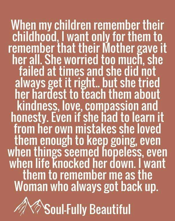 Quotes About Strength : ♡. She always got back up. Thank ...