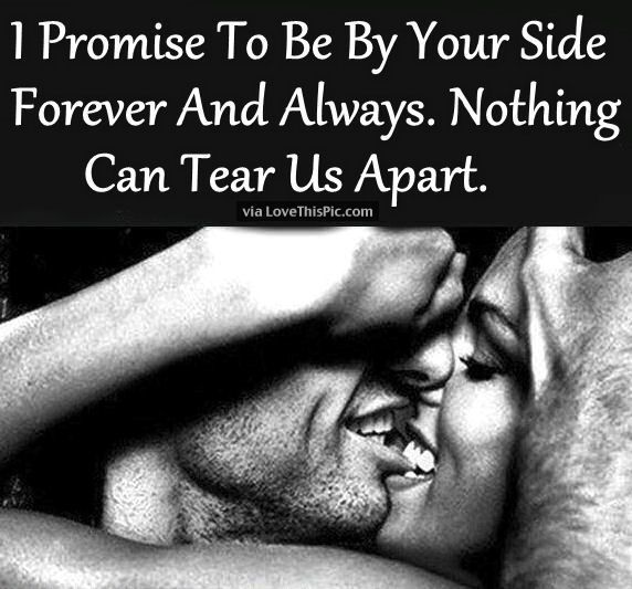 Quotes and inspiration about Love : I Promise To Be By Your ...