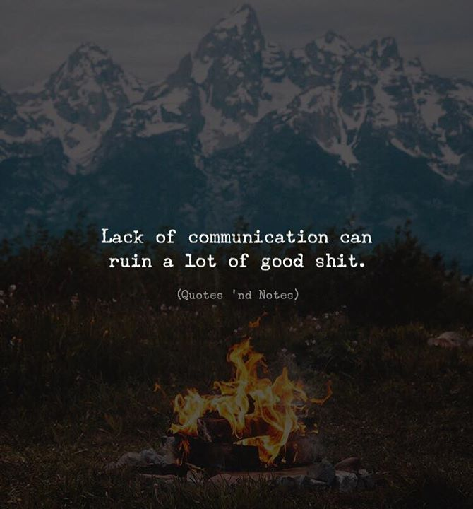 LIFE QUOTES : Lack of communication can ruin a lot of good ...