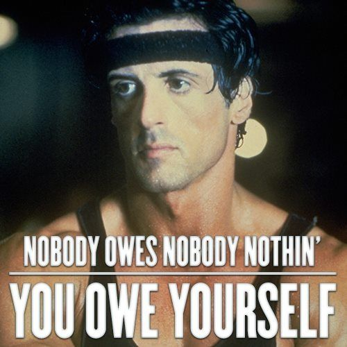 Famous Rocky Quotes Adorable Best 25 Rocky Quotes Ideas On Pinterest  Rocky Balboa Quotes