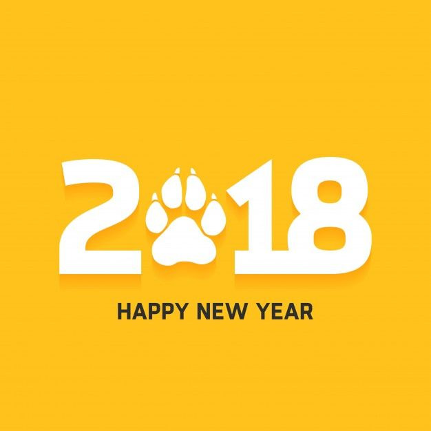 Happy New Year 2018 Quotes Happy New Year 2018 Text Design Free  Vector Ift Tt 2rjo96v