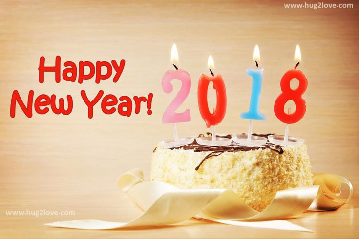 happy new year quotes new year cake and candles