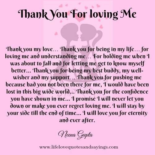Thank You For Loving Me Quotes: Love Quote And Saying : THANK-YOU-FOR-LOVING-ME.jpg (500