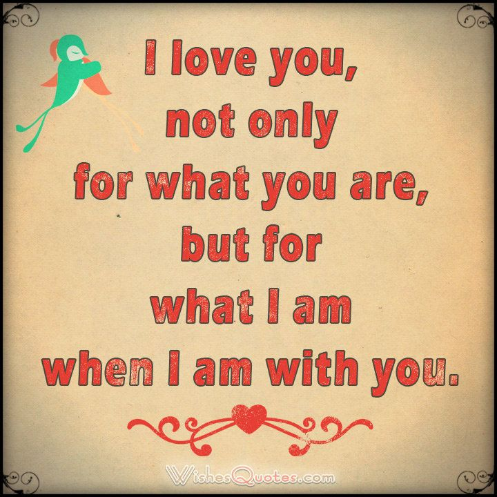 Quotes and inspiration about Love : I love you, not only for ...
