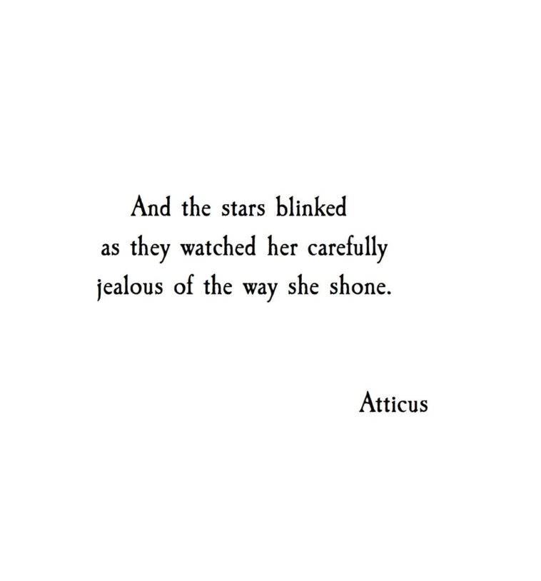 Life Quotes And The Stars Blinked As They Watched Her Carefully