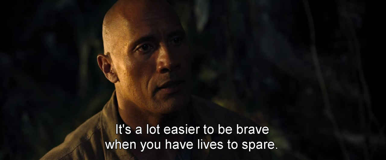 Movie Quotes  Jumanji Welcome To The Jungle (2017)  Top. Beach Quotes Twitter. Work Disappointment Quotes. James Strong Quotes. Country Wise Quotes. Movie Quotes Youtube. Friendship Quotes Drinking. Good Quotes Graduation. Winnie The Pooh Quotes Rivers Know This