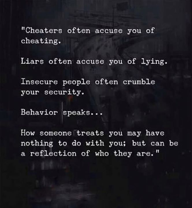 Life Quotes Cheaters Often Accuse You Of Cheating Via Top