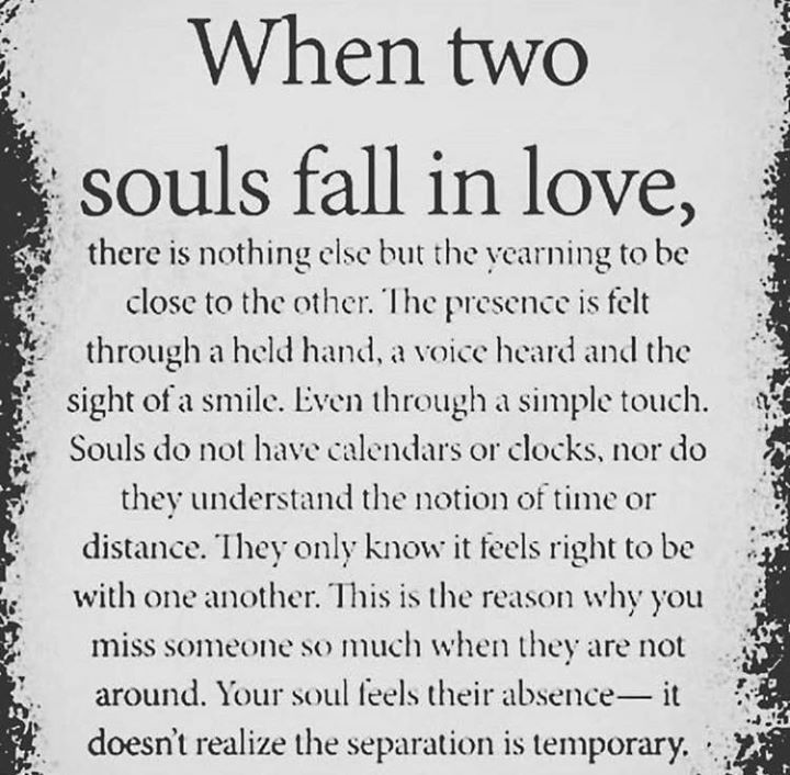 Life Quotes When Two Souls Fall In Love Via Httpsifttt