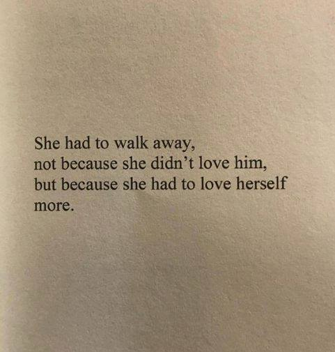 LIFE QUOTES : She had to walk away.. —via https://ift.tt ...