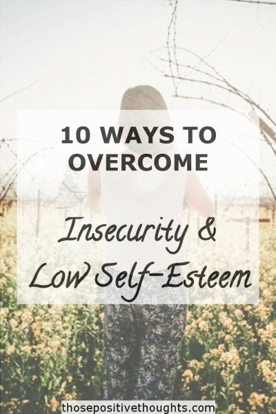 Quotes About Strength Insecurity Can Affect Many Areas Of Your Life