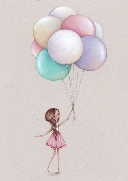 Birthday Quotes : Alice Wong - Girl And Balloon - Top Quotes ...