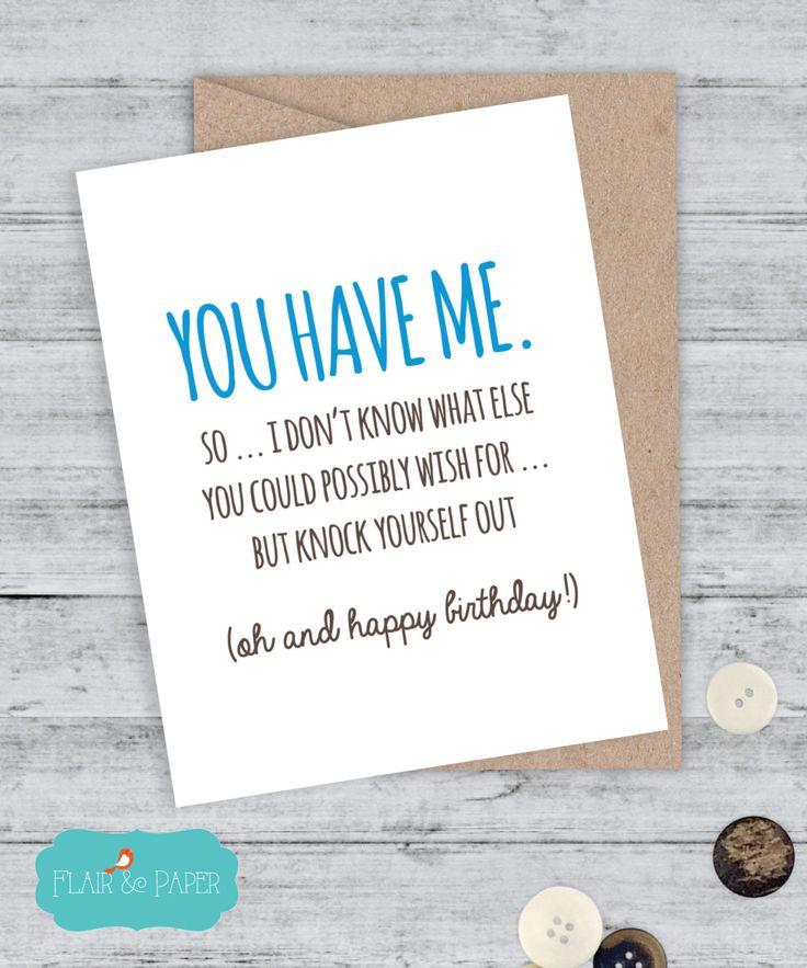 Birthday Quotes Card Boyfriend Funny I Love You Sorry Qui