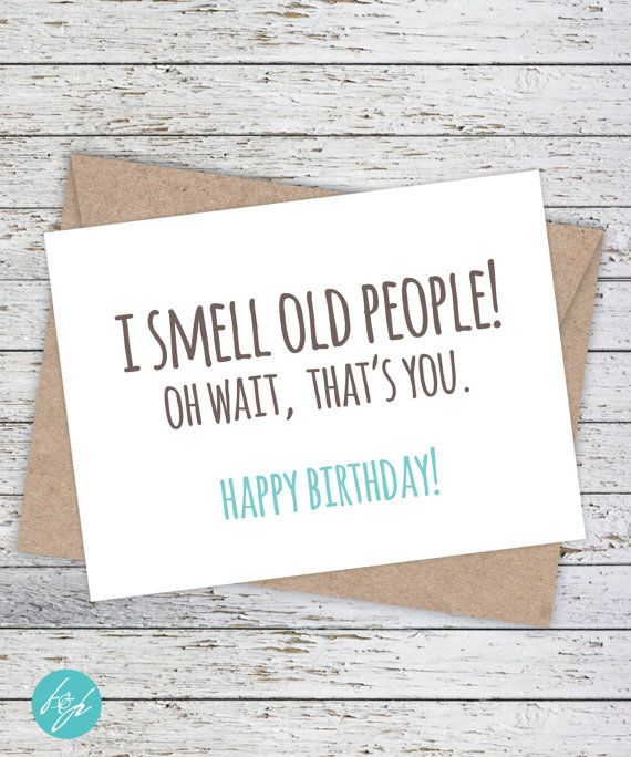 Birthday Quotes Funny Card Boyfriend Friend Brother
