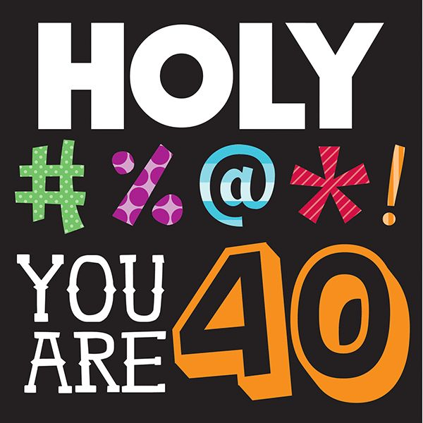 Birthday Quotes : Holy Bleep 3-Ply Lunch Napkins 40th ...