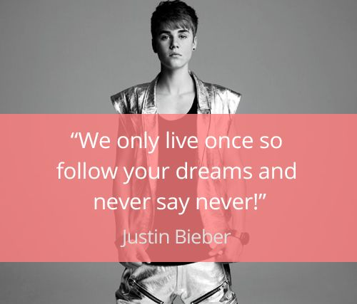 Justin Bieber Quotes | Love Quote And Saying Justin Bieber Quotes Top Quotes