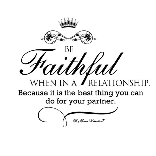 Quotes and inspiration about Love : Be faithful in a ...