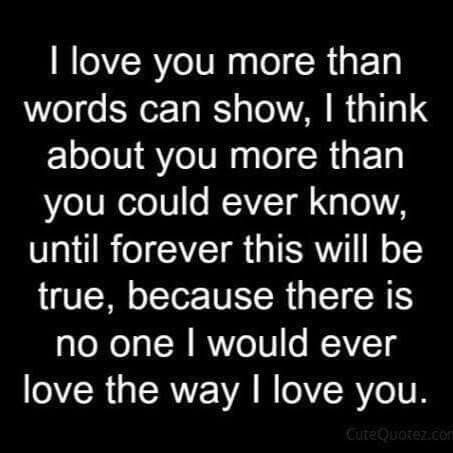Quotes And Inspiration About Love I Love You More Than Words Can