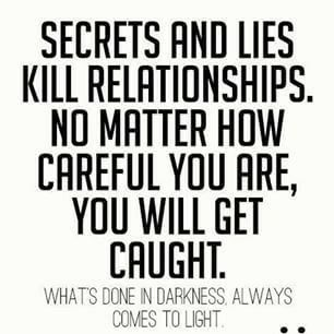 Trust Quotes : Everytime  I told him dont lie to me   its