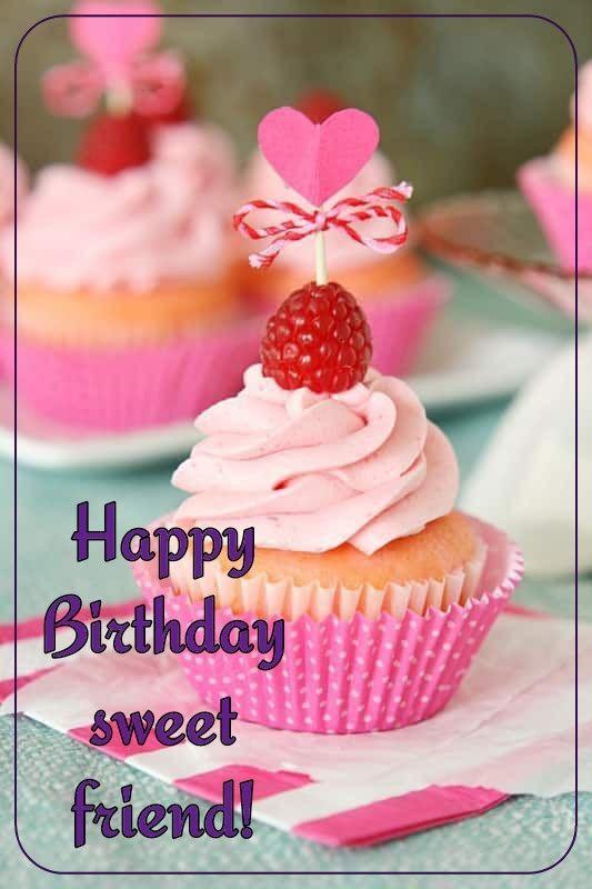 Birthday Quotes : Happy Birthday cupcake - Top Quotes Online ...