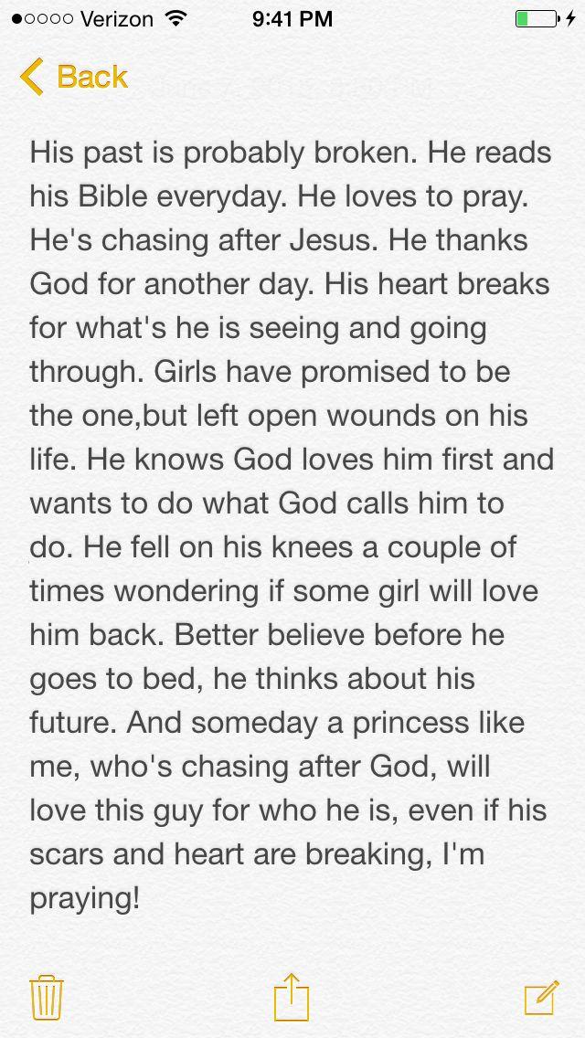 Love quote and saying : Boyfriend prayer/note prayer