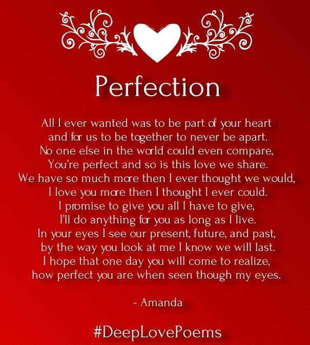Quotes And Inspiration About Love : Deep Love Poems For