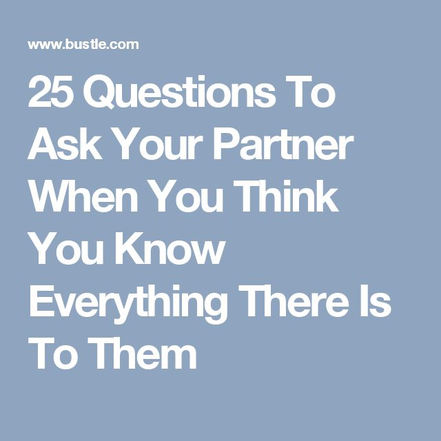 Love Quote And Saying 25 Questions To Ask Your Partner When You