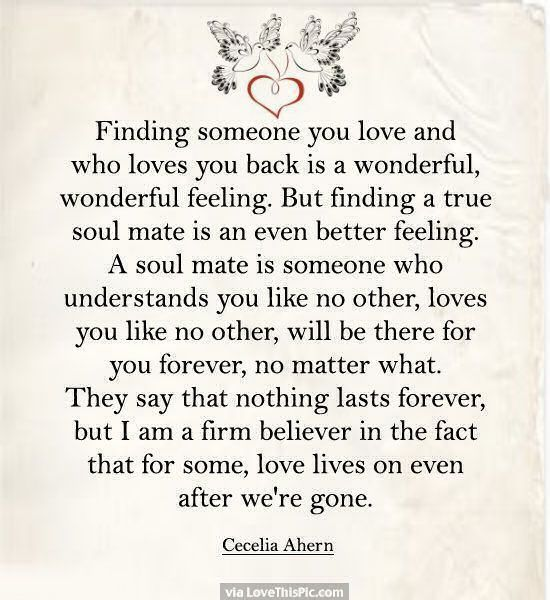 Quotes and inspiration about Love : Soulmate And Love Quotes ...