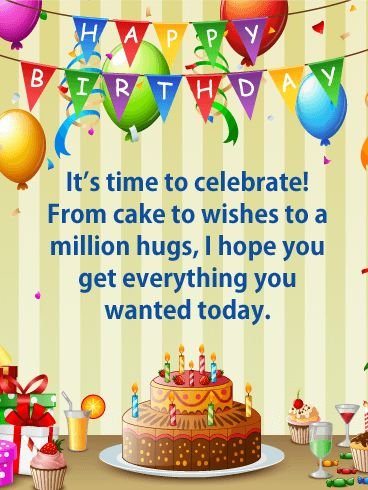 Birthday Quotes Million Hugs Happy Birthday Card For Their