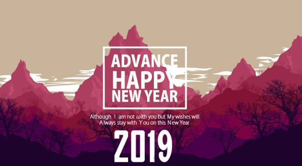 Happy New Year 2019 : Happy New Year Wallpaper 2019 - Top
