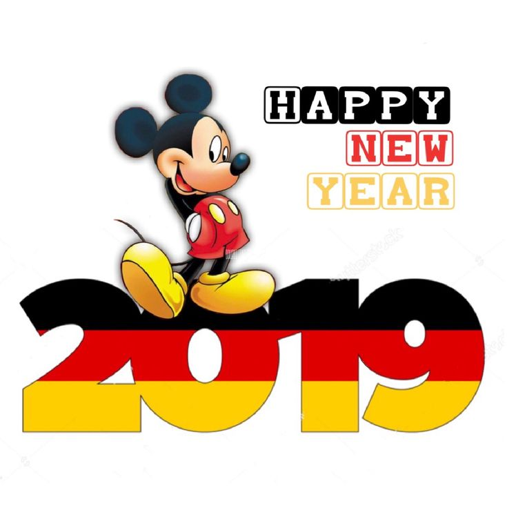 Happy New Year 2019 : Happy new year 2019 mickey mouse - Top ...