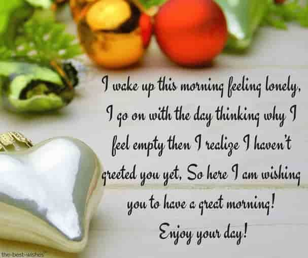 Love quote and saying : Good morning message for an angry