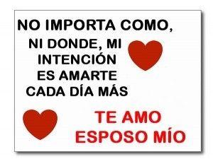 Love quote and saying : Imagenes De Amor Para Mi Esposo Que ...